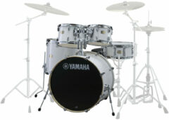 Yamaha JSBP2F5PW Stage Custom Birch shellset Pure White