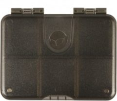 Groene Korda Mini Box - 6 Compartments - Transparant