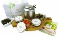 Dutch Tea Maestro - Thee cadeau - Zelf thee blenden pakket voor thuis - CHEER UP Premium Thee Pakket - losse thee - origineel cadeau