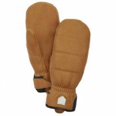 Hestra - Alpine Leather Primaloft Mitt - Handschoenen maat 9, bruin