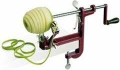 Zwarte ISO Winkelinventaris Tellier Appelschilmachine met klembeugel