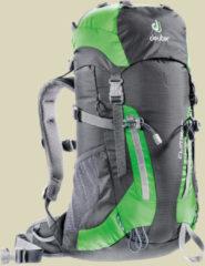 Deuter Climber Kinder Alpin-Rucksack Volumen 22 anthracite spring
