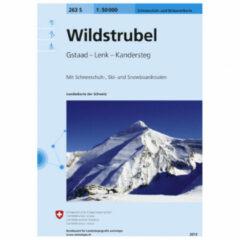 Swisstopo - 263 S Wildstrubel - Toerskigids Ausgabe 2013