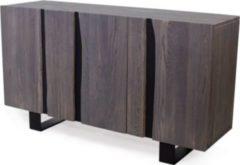 Möbel Ideal Sideboard Edge Eiche Massiv Grau 150cm