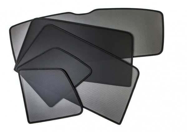 Afbeelding van Zwarte Sonniboy Nissan X-Trail 5 deurs 2007-2014 Compleet