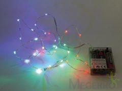 LEDSLINGER - RGB - 20 LEDS - OP BATTERIJEN - Velleman