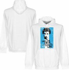 Witte Retake Messi Argentinië Flag Hooded Sweater - L