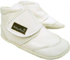 Witte Baby Paws babyslofjes Ray Wit maat 0 = ( 9,5 cm)