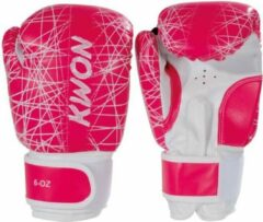 Roze KWON Bokshandschoenen KIDS NEON Pink 6oz