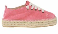 Roze Lace-up espadrilles