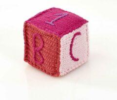 Pebble rammelaar - Speelblok roze