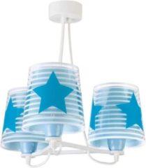 Star Bright Starbright Kroonluchter Wolkje Junior 39 X 45 Cm Wit/blauw