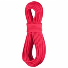 Rode Edelrid - Canary Pro Dry 8.6 - Enkeltouw maat 50 m rood/roze