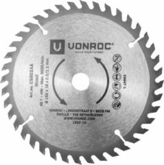 VONROC Cirkelzaagblad – Ø150MM – 40 tanden – geschikt voor hout – universeel