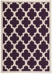 Kayoom laagpolig vloerkleed - contour gesneden in Trendy design 200 x 290 Lila