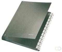 Zwarte Leitz Bureaumap Karton - A-Z tabs - A4 - Zwart