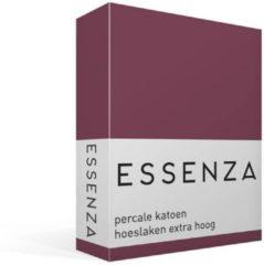 Essenza Premium - Percale Katoen - Hoeslaken - Extra Hoog - Eenpersoons - 90x220 cm - Masala