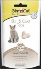 Gimcat Skin & Coat Tabs - Kattensnack - 40 g