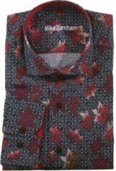 Carter & Davis Mike Turnham Lange mouw Overhemd - 5023-1459 Zwart (Maat: XXL)