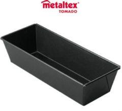 Zwarte Tomado - Metaltex Metaltex By Tomado Superior Metalen Bakvorm | 30 cm