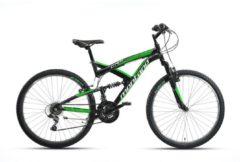 26 Zoll Fully Mountainbike 21 Gang Montana CRX Wham schwarz-grün
