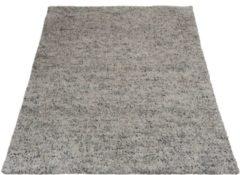 Grijze Home67 Vloerkleed Zumba - 160 x 230 cm - Grey - Wol