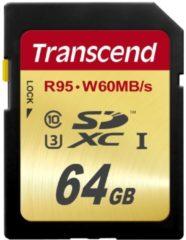 Transcend Speicherkarte Ultimate 64GB SDXC-Karte Transcend bunt/multi