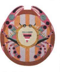 Ted Baker - Zodiac Cancer 161405 Vloerkleed - 100 cm rond - Rond - Laagpolig, Rond Tapijt - Modern - Meerkleurig