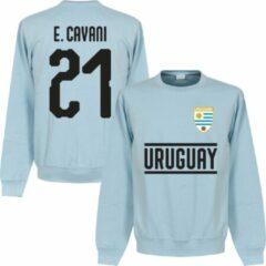 Lichtblauwe Retake Uruguay Cavani 21 Team Sweater - Licht Blauw - XXL