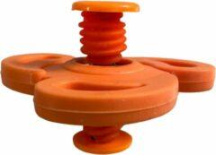 AWR Spinning Jump Spinners Fidget   Spin Flip Spinners   Bouncing Spinner - Oranje