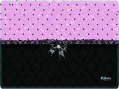 Muismat chic roze zwart - Sleevy