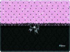 Muismat chic roze zwart - Sleevy - mousepad - Collectie 100+ designs