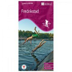 Nordeca - Wander-Outdoorkarte: Fredrikstad 1/50 Auflage 2010