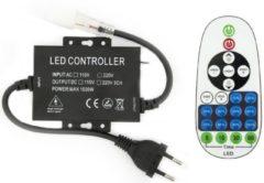 Zwarte Groenovatie LED Neon Flex Enkelkleurig Controller Met Dimfunctie - Aansluitstekker