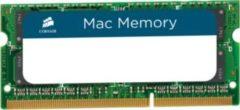 Corsair Microsystems Corsair Mac Memory - DDR3 - 8 GB - SO DIMM 204-PIN - 1333 MHz / PC3-10600 - CL9 - 1.5 V - ungepuffert - non-ECC - für Apple iMac (Mitte 2011) CMSA8GX3