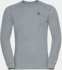 Odlo - Base Layer Top Crew Neck L/S Active Warm Eco - Synthetisch ondergoed maat L, grijs