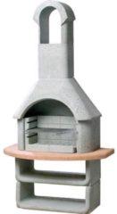 Grijze Betonnen Barbecue - Grijs en terracotta - Buschbeck