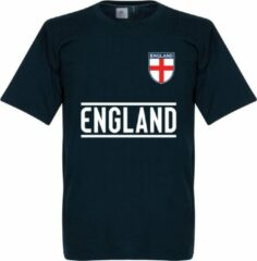 Marineblauwe Retake Engeland Team T-Shirt - XXXXL