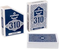 Copag speelkaarten 310 Stripper goochelaars blauw 55-delig