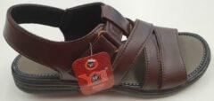 S.F. Shoes Heren Sandaal - Bruin - Maat 40