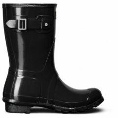 Hunter - Women's Original Short Gloss - Rubberen laarzen maat 43, zwart/bruin/zwart/zwart/grijs/zwart/grijs/olijfgroen/zwart/grijs