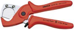 Knipex 90 20 185 Slangsnijder Geschikt voor (striptechniek) Kunststof buis, Slang 25 mm
