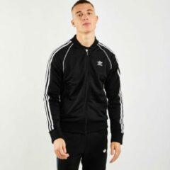 Zwarte Adidas Primeblue sweatvest met steekzakken