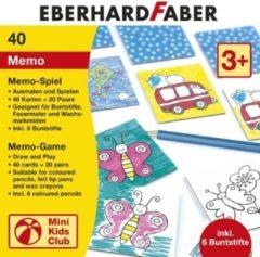 Eberhard Faber Memo spel EFA inclusief 6 kleurpotloden