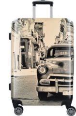 Fabrizio Design 4-Rollen Trolley 68 cm mit Doppelrollen