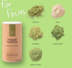 Your Super - POWER MATCHA - Organic Superfood Mix - Plantaardig - Verbeter Focus en Productiviteit