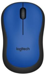 Logitech M220 Silent Wireless Mouse - Blue / Black
