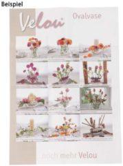 Velou® Design Deko Oval-Vase