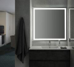 FOCCO Ada LED spiegel 80x70 met spiegelverwarming