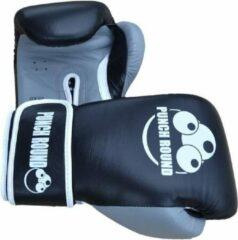 Punch Round™ ELITE PRO Bokshandschoenen Zwart Grijs 14 oz